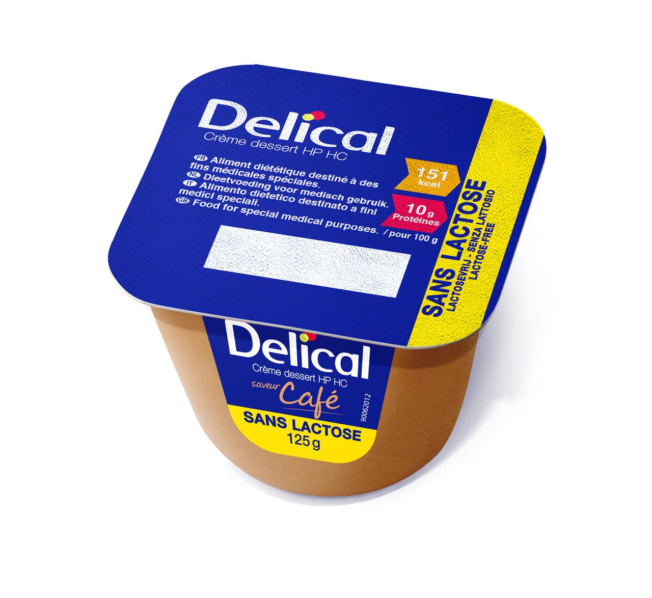 Delical Caffe 4 x 125g