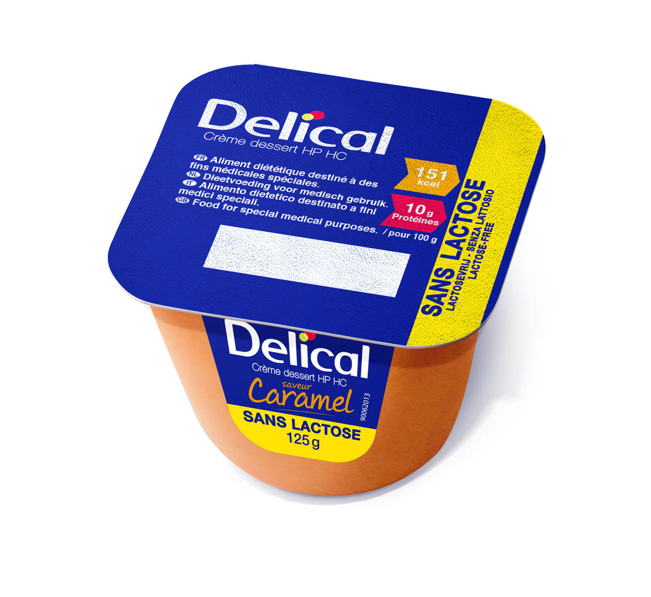Delical Caramello 4 x 125g
