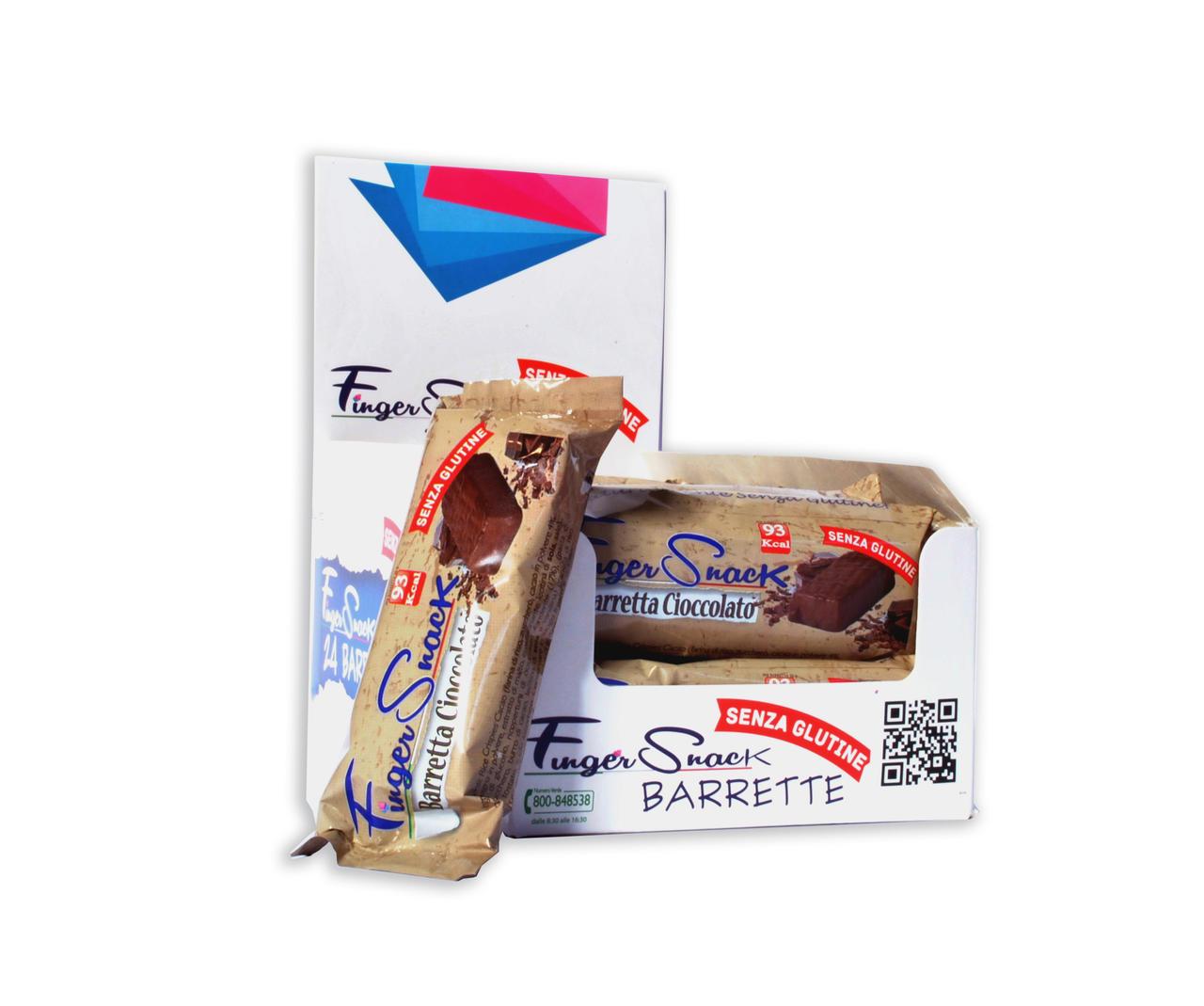Barretta FingerSnack Cioccolato 24pz x 30g