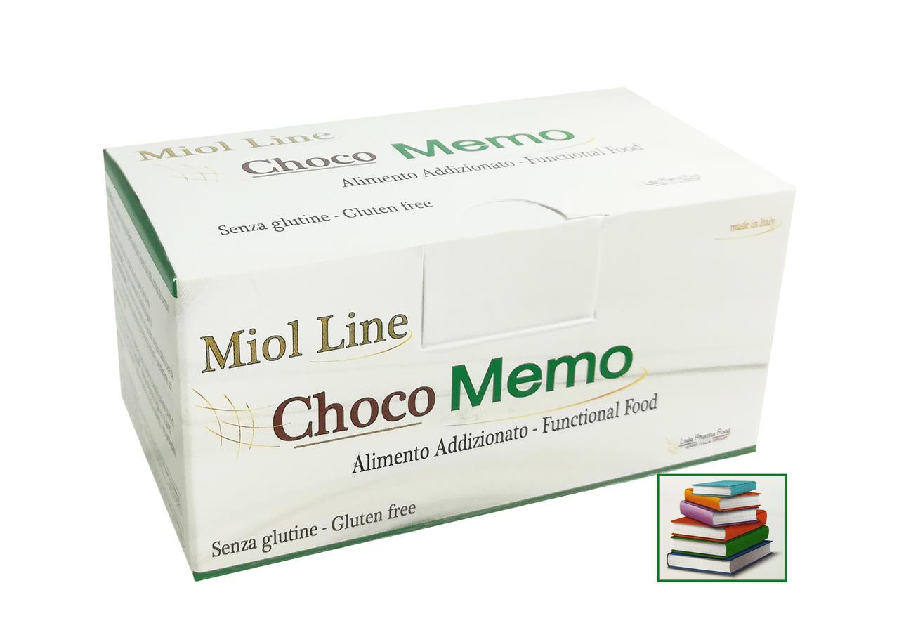 Choco Memo Miol - Tavolette di cioccolato fondente 70% 7pz x 10g