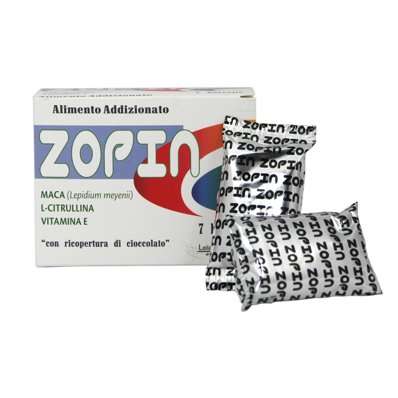 Zopin - Alimento Addizionato 7bar x 20g
